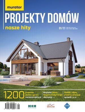 Katalog murator projekty domów 1/2019 Nasze hity E-WYDANIE