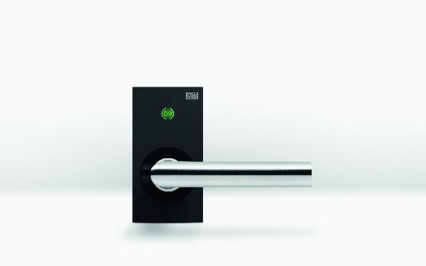 Klamka elektroniczna do drzwi wewnętrznych - nowy element systemu kontroli dostępu
