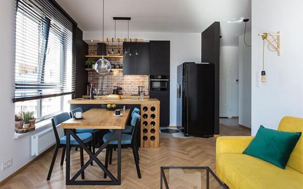 Salon z aneksem kuchennym: pomysły na nowoczesne wnętrza