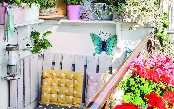 10 sposobów na mały balkon, czyli jak urządzić ogród na małym balkonie