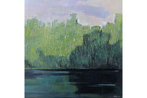 """Olena Horhol, """"Zielony staw"""" zdjęcie"""